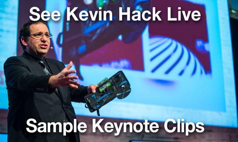 Voir Kevin Mitnick hacker en live