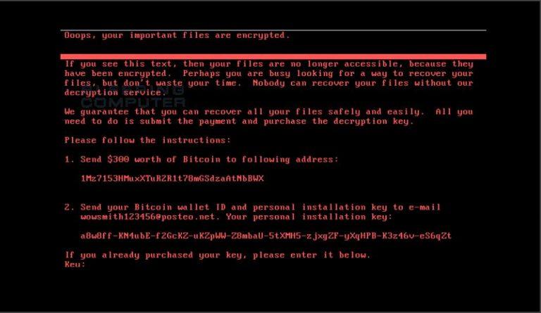 Vaccinez votre Windows contre le ransomware Petya (NotPetya)