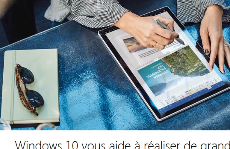 Windows 10 v.1511 ne recevra plus les mises à jour de sécurité