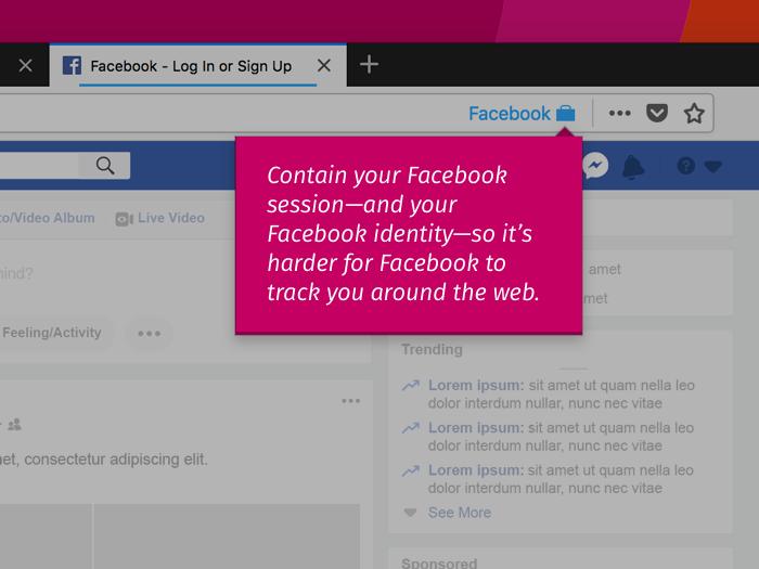 Facebook Container : protégez-vous contre le pistage avec Mozilla